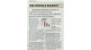 Dallas Business Journal – Recapping the Middle Market 50